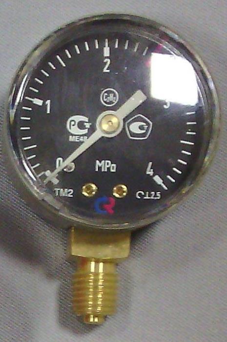 Манометр  0-4МПа  С3H8 (пропан)