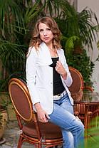 Пиджак приталенный на одну пуговицу в расцветках, фото 3