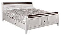Кровать из массива дерева 052
