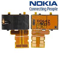 Коннектор handsfree для Nokia 720 Lumia, оригинал
