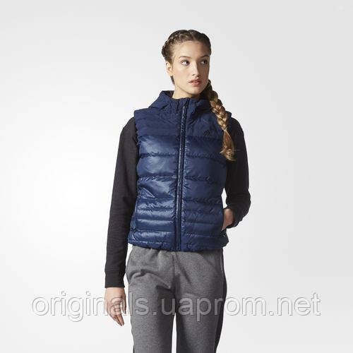 Утепленный жилет Adidas женский adidas Cozy Conavy AP8686 - интернет-магазин Originals - Оригинальный Адидас, Рибок в Киеве