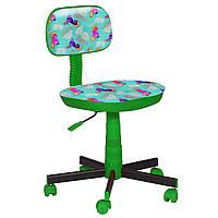 Кресло детское Киндер Пони - бирюзовый пластик зеленый (AMF-ТМ)