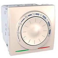 Термостат для тепл. пола 10A(+5.45°С) датч. 2М слон. кость Unica MGU3.503.25 Schneider Electric