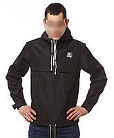 XL Мужская куртка анорак Ястребь classic черный