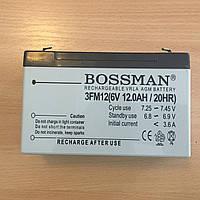 Аккумулятор для детских электромобилей Bossman-Profi 3FM12