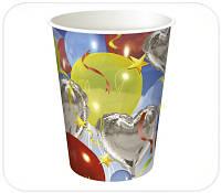 Одноразовый бумажный стакан 250 мл (000DT2)