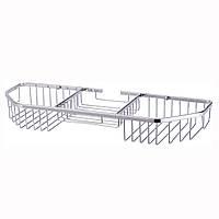 Корзинка для ванной Besser прямоугольная 40.5*13*5см с 3 секциями