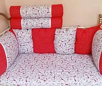 Набор постельного белья с бортками для малыша