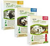 Натуральные капли от блох и клещей для собак и щенков Sentry Natural Defense