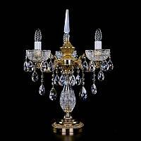 Настольная лампа хрустальная ArtGlass CR 0006/03/20 TL CL