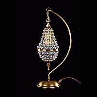 Настольная лампа хрустальная ArtGlass ROBYN TL CE