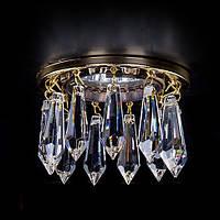 Светильник точечный хрустальный ArtGlass SPOT 81 CE