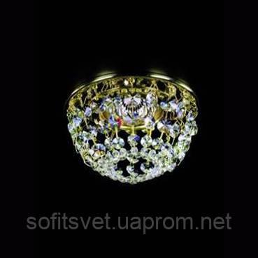 Светильник точечный хрустальный ArtGlass SPOT 08 CE