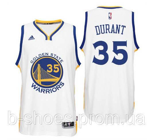 Мужская баскетбольная майка Golden state Warriors (Kevin Durant ) White
