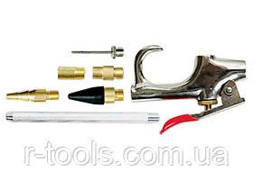 Набор продувочный пистолет пневмат в комплекте с насадками 6 шт MTX 573369