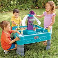 Стол-песочница с зоной для воды Little Tikes 641213М