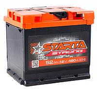 Аккумулятор STARTA Strong 52Ah ✔ пусковой ток 480A