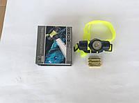 Фонарь для подводного плаванья налобный Police BL-6800
