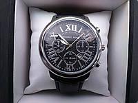 Часы мужские наручные серебро с черным Майкл Корс