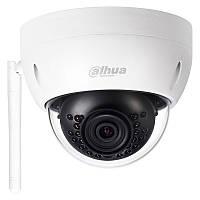 Купольная Wi-Fi IP камера Dahua IPC-HDBW1120E-W, 1.3 Мп