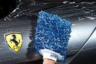 Мочалки,перчатки для мытья автомобиля