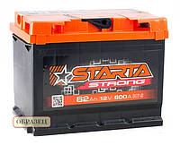 Аккумулятор Starta Strong 60Ah ✔ пусковой ток 540A