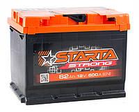 Аккумулятор Starta Strong 62Ah ✔ пусковой ток 600A