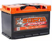 Аккумулятор Starta Strong 78Ah ✔ пусковой ток 780A