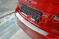 Накладка на задний бампер Toyota Venza с 2013 г.в.