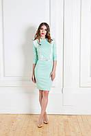 Нежное деловое платье  K 5