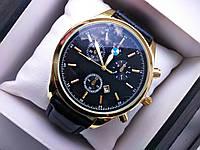 Часы мужские Bmw чёрные с золотом