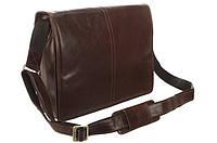 Винтажная кожаная сумка Visconti VT7 Aldo (Brown)
