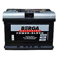 Аккумулятор автомобильный Berga 6СТ-60 АзЕ Power Block (560409054)