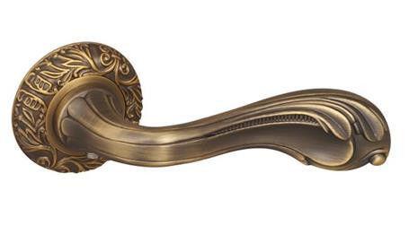 Дверная ручка Fuaro BOHEMIA SM AB-7 (матовая бронза)
