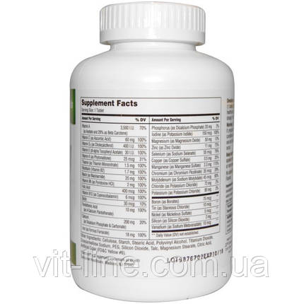 21st Century, мультивитаминная и мультиминеральная добавка, для взрослых, 300 таблеток, фото 2
