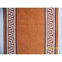 Доріжка на гумовій основі - Versace brown - 80 см