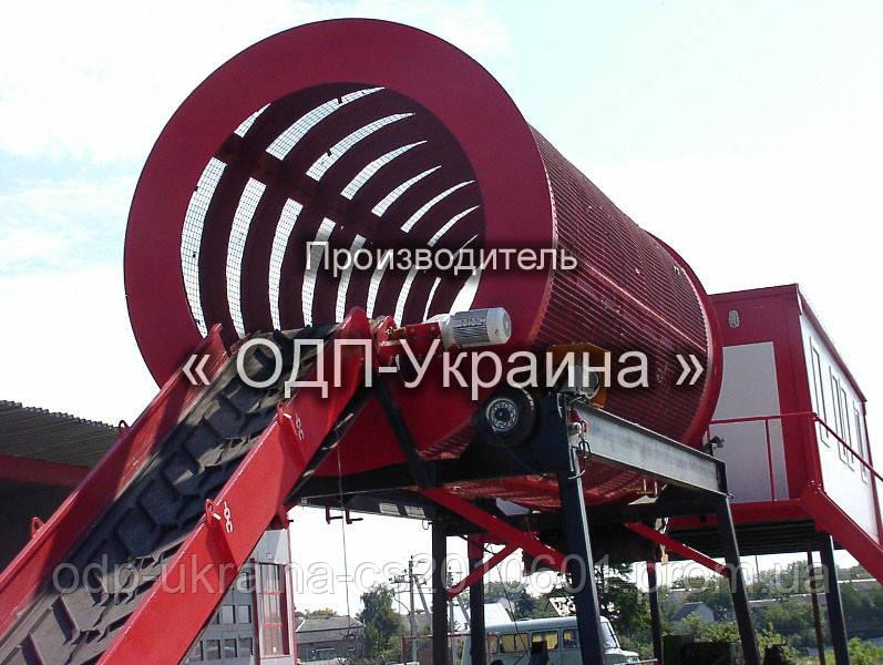 Завод по сортировке бытовых отходов (ТБО)
