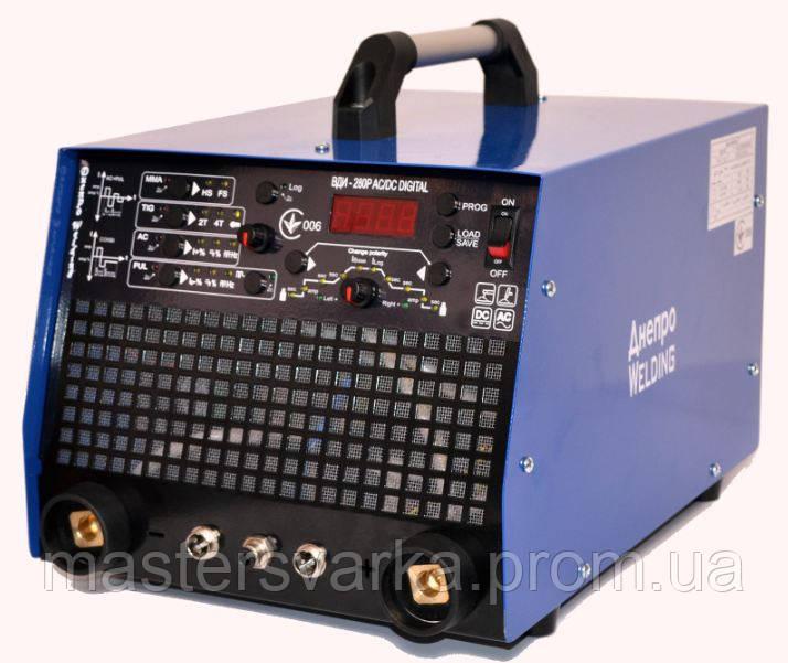 Зварювальний аргоновий апарат Днепровелдинг TIG 220P ACDC