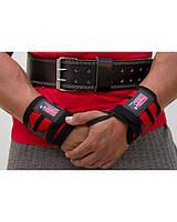 Бинт кистьовий Gorilla wear Wrist Wraps PRO (Black/Red)