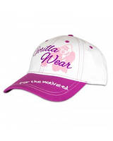 Женская бейсболка Gorilla Wear Lady Signature Cap (White/Pink)