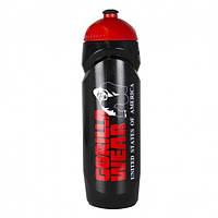 Фляга Gorilla wear Sport Bottle (Black/Red)