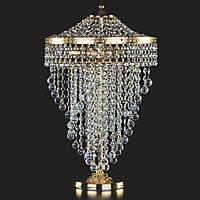 Настольная лампа хрустальная ArtGlass WENDY TL