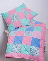 Лоскутное одеяло+2 декоративные подушки