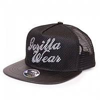 Бейсболка Gorilla wear Mesh Cap (Black)