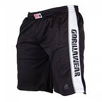 Шорты Gorilla wear Track Shorts (Black/White)