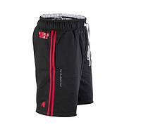 Тренировочные шорты Gorilla wear 82 sweat shorts (Black/Red)