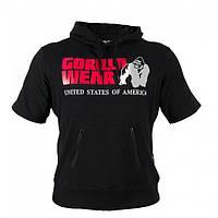 Толстовка с капюшоном Gorilla wear Boston Short Sleeve Hoodie (Black)
