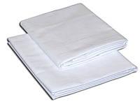 Простыня для бани и сауны бязь (150*180 см) белая