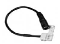 Соединитель LEMANSO для св/ленты герметичный, уличный, белый (комплект