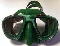 Маска для подводной охоты Sopras Sub Murena II; зелёный камуфляж